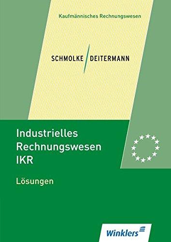 Industrielles Rechnungswesen - IKR: Lösungen