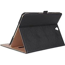 ProCase Samsung Galaxy Tab S3 9.7 Housse, Étui pour Galaxy Tab S3 Tablet(9.7 Pouces, SM-T820 T825), avec Plusieurs Angles de visionnage, Carte de Documents Pocket -Noir