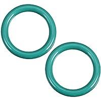 uxcell juntas tóricas de caucho, 10 mm de diámetro interior, 14 mm de diámetro, 2 mm de ancho, junta de sellado redondo (paquete de 2)