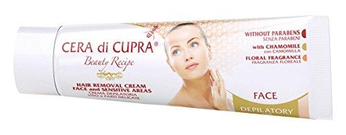 Cera di Cupra Enthaarungscreme Gesicht Und Empfindliche Stellen, 50 ml