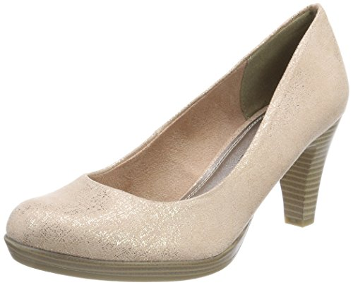 Marco Tozzi Damen 22411 Pumps, Pink (Rose Metallic), 39 EU