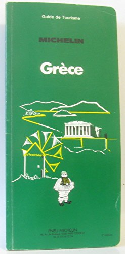 Grèce (Guide de tourisme) par Manufacture française des pneumatiques Michelin (Broché)