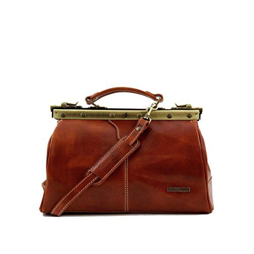 Tuscany Leather - Michelangelo - Borsa medico in pelle Testa di Moro - TL10038/5 Miele