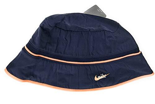 Nike Damen Fischerhut Navy/Orange S/M