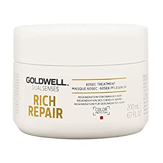 Goldwell Dualsenses Rich Repair Restoring 60 seconds Treatment, 1er Pack (1 x 200 ml)