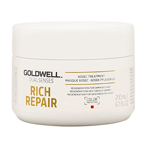Goldwell Dualsenses Rich Repair Restoring 60 seconds Treatment, 1er Pack (1 x 200 ml) -