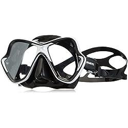 Mares Masque de plongée Unisexe X Vision Taille Unique Blanc/Noir