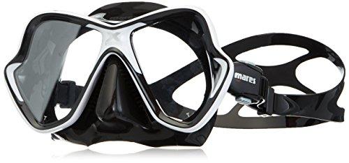 Mares Erwachsene X-Vision Tauchmaske White/Black One Size