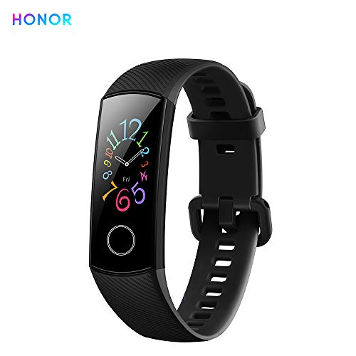 "Honor Band 5 Fitness Armband Heart Rate 0,95"" farbenreiches AMOLED-Display 5ATM wasserdichte Sportarten Armbanduhr"