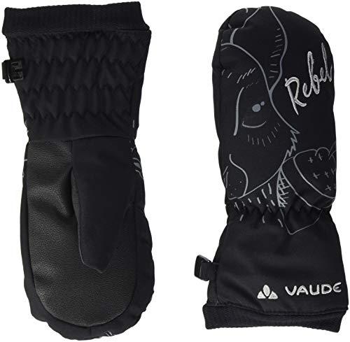 Vaude Kinder S Gloves III Handschuhe, Black, 4