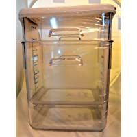 8 quart industrial restaurant cold storage square containers with lids