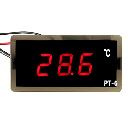 Ils - 12V -40~110C Auto LED-Digital-Thermometer Meter Probe
