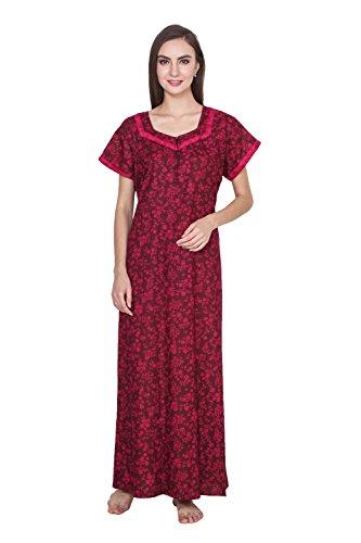 Klamotten Women Long Cotton Nightwear 244Cd20