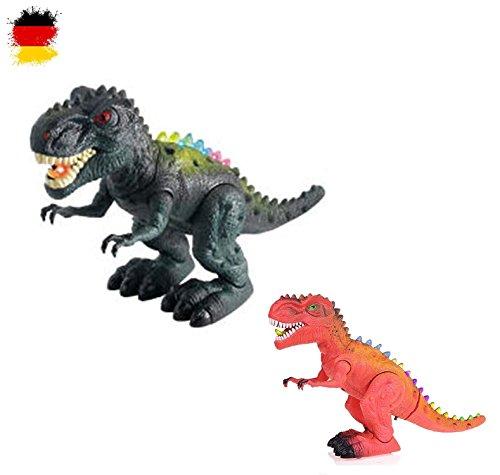 HSP Himoto Elektronischer Tyrannosaurus T-Rex Dinosaurier für Kinder, Dino-Tiere, mit Sound und Gehfunktion, Licht,, OVP - Roboter-t-rex