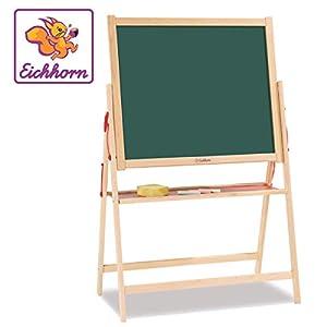 Simba Eichhorn 100002578-Pizarra magnética (35x 56x 87cm Incluye 10tizas, 1Esponja, Madera de Haya)