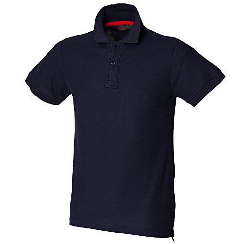 SF Men Club polo (with stay-up collar) Navy
