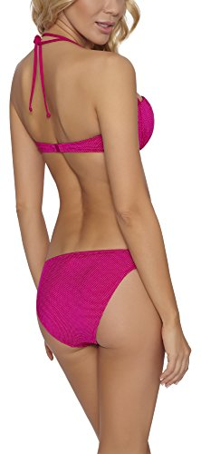 Feba Damen Push Up Bikini Set 92GG6 Rosa
