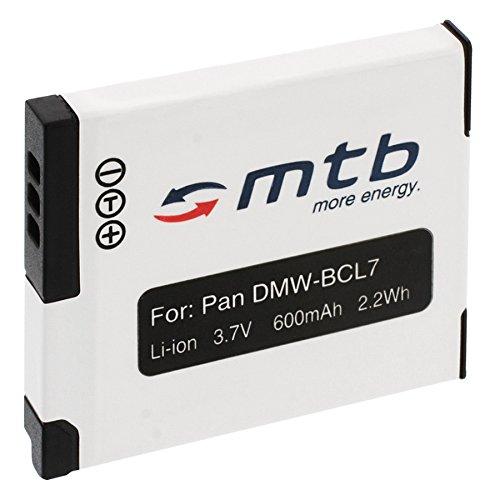 Ersatz-Akku DMW-BCL7 für Panasonic Lumix DMC-F5, FH10, FS50, SZ3, SZ8, SZ9, SZ10, XS1, XS3