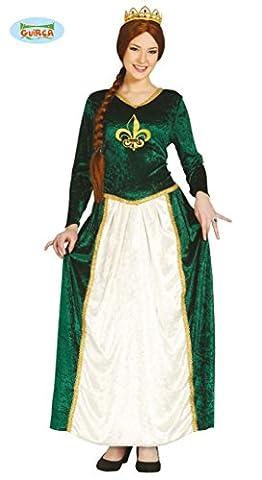 grünes Prinzessin Kostüm für Damen Gr. M und L, Größe:L