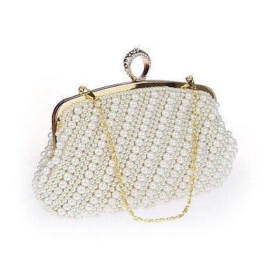 Ring Abendessen Tasche Handtasche für Frauen spät Outfit tasche tasche Umhänge Tasche Champagne