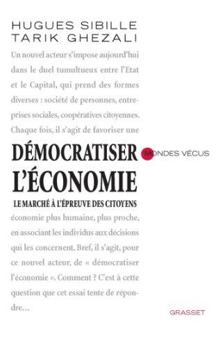 Démocratiser l'économie (essai français)