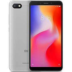 Xiaomi 6A - Smartphone (Memoria de 2 GB+32 GB, cámara de 13 MP, Android 8.1 Oreo), Color Gris