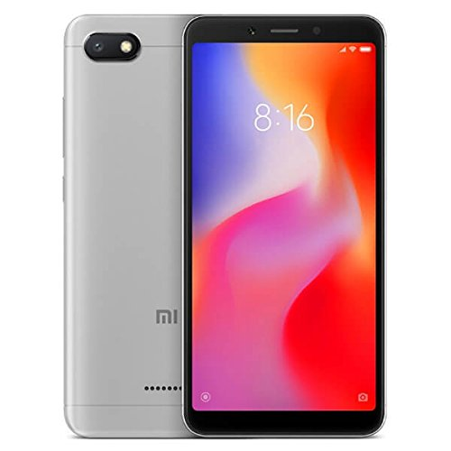 Xiaomi 6A - Smartphone (memory 2 GB+32 GB, camera of 13 MP, Android 8.1 Oreo), Gray