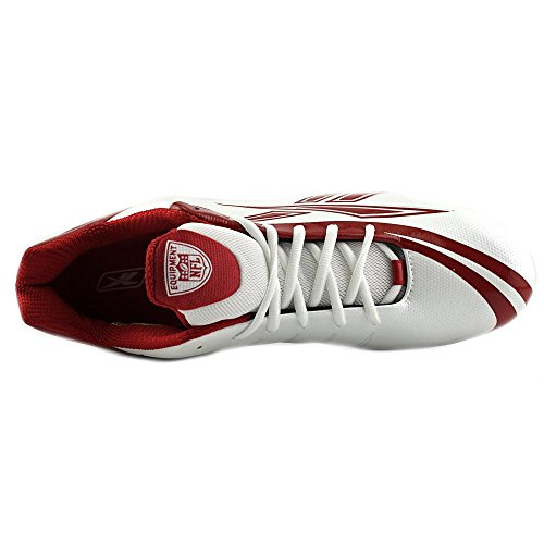 Reebok NFL Burner Speed Low Synthétique Baskets White-Red