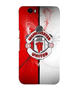 Takkloo Football club footballer,logo of football club, cover for football lover) Printed Designer Back Case Cover for Huawei Nexus 6P :: Huawei Google Nexus 6P