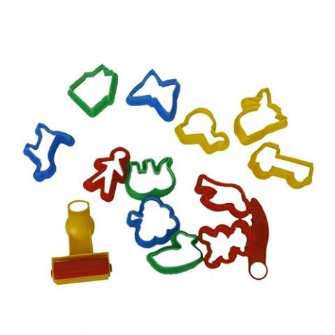 Emporte-pièces Moules Kit pour Argile Pâte à (Divertimento Cookie Cutters)