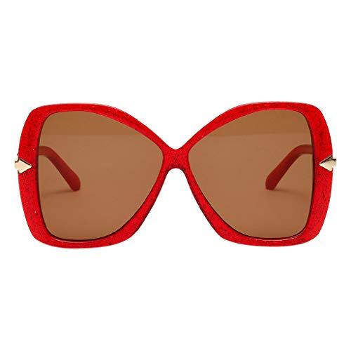 Syeytx Frauen Weinlese Augen Sonnenbrille Retro Eyewear Art und Weisestrahlungsschutz 7 Farben
