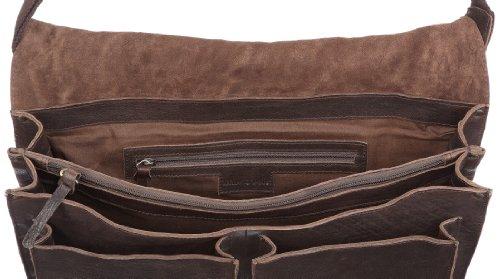 Marc O'Polo Accessories 11257 79000 127, Borsa uomo, 44,5 x 30,5 x 12 cm (L x A x P) Marrone (Braun (dkl braun 79000))