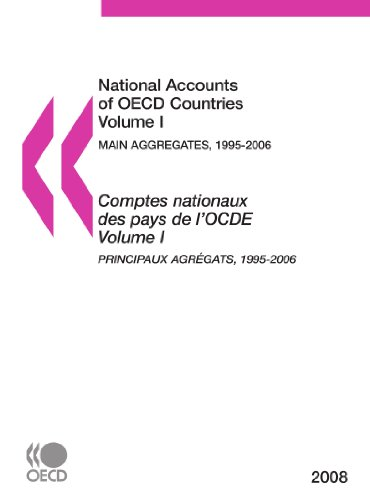 National Accounts of OECD Countries 2008, Volume I, Main Aggregates: Edition 2008