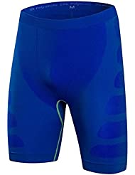 los deportes de los hombres y de formación de fitness pantalones cortos ajustados pantalones cortos de compresión elástica de ropa de secado rápido 6004 , 4 , xxl
