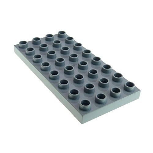 1 x Lego Duplo Bau Basic Platte neu-hell grau 4x8 8 x 4 Noppen für Set Cars Thomas & seine Freunde 6134 5555 4672 10199 Lego Graue Bau Platte