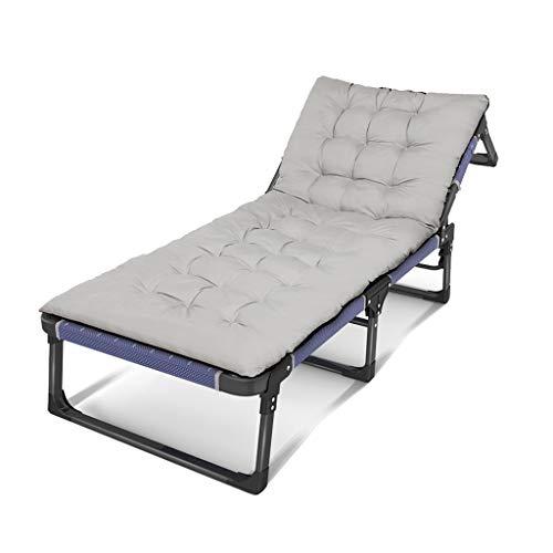 Betten Graue Matratze Klappbett Home Mittagspause Nickerchen Büro Einfache Erholung Unterstützung Rollsnownow