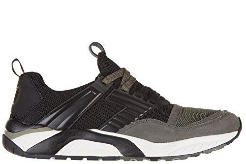 emporio-armani-ea7-herren-sneaker-herrenschuhe-nuove-orginale-70-trainer-schwar-black-42-eu