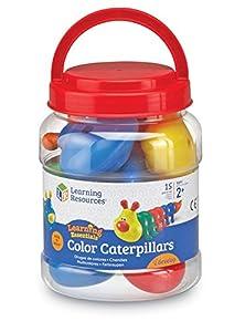 Learning Resources- Juego de orugas de Colores Snap