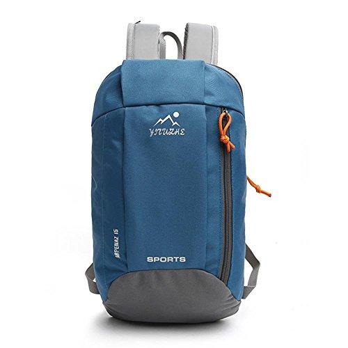 VERTAST Zaino da viaggio per bambini ultraleggero da 15L, zainetto sportivo per donna stile casual adatto per uso quotidiano, B grigio Blu