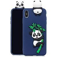 Everainy iPhone XS/iPhone X Silikon Hülle Ultra Slim 3D Panda Muster Ultradünn Hüllen Handyhülle Gummi Case iPhone... preisvergleich bei billige-tabletten.eu