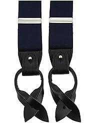 Tony & Paul - Bretelle 3 Attaches Hercule, Bleu Marine