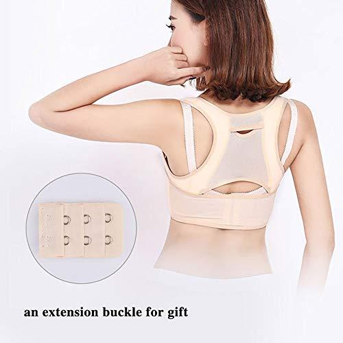 JUZEN Frauen-Lage-Korrektor Erhält Adjustable Leichten Atmungsaktive Gurt-Entwurf,XL -