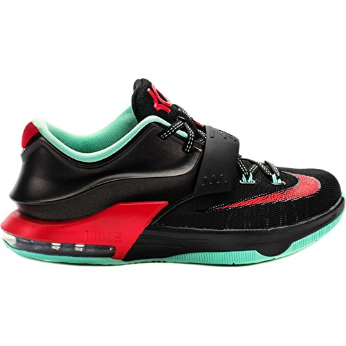 Nike Kd Vii Gs (gute Ã?pfel) Schwarz / Medium Mint-Aktion Red (5)