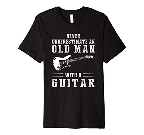 Never underestimate an old man with a guitar -