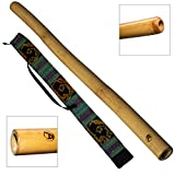 Australian Treasures - DIDGERIDOO: Bamboo PRO-series con borsa didgeridoo