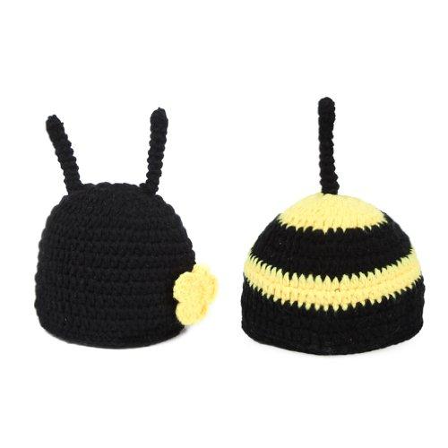 eborenen Kinder Strickmütze Tierisch Mütze Set (Babys Tierische Kostüme)