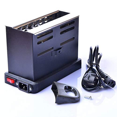 Funnyrunstore 800W Hookah Quemador carbón eléctrico