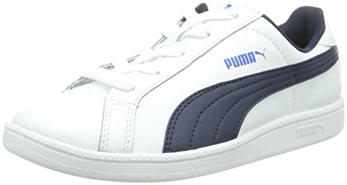 top Divertido kinder peacoat Baixo Puma L Unisex Esmagar Jr branco 01 Weiss Uq4A8w