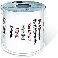 1 Rollo de papel higiénico Vino Caliente WC Pause Navidad