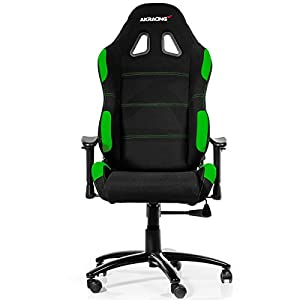 AKRacing K7012 – AK-7012-BG – Silla Gaming, Color Negro/Verde
